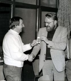 Wilfried Glaremin und Norbert Becker